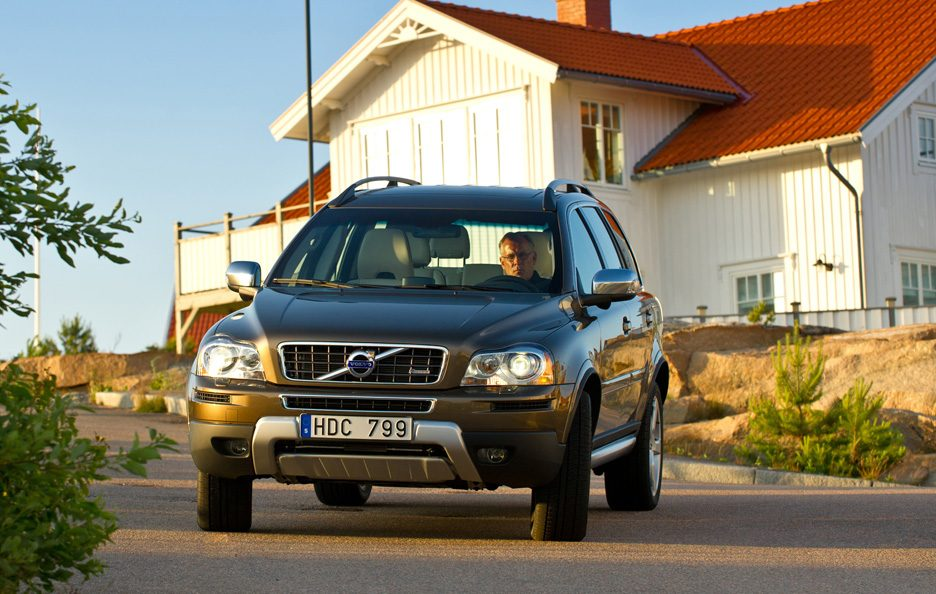 Volvo XC90 restyling frontale