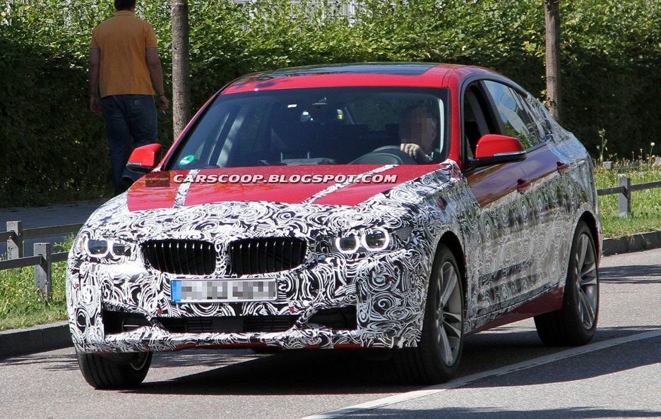 BMW Serie 3 GT - F0to spia - Frontale