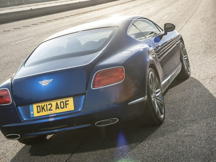 Bentley Continental GT Speed: nuove foto e info