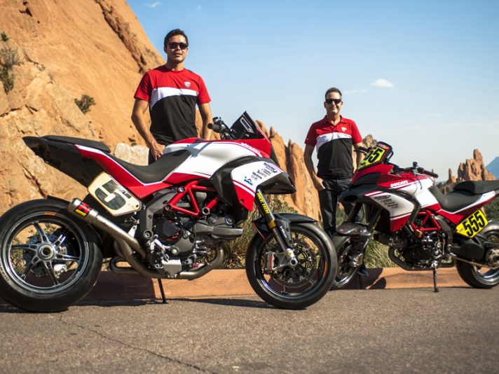 Ducati vince la Pikes Peak International Hill Climb 2012