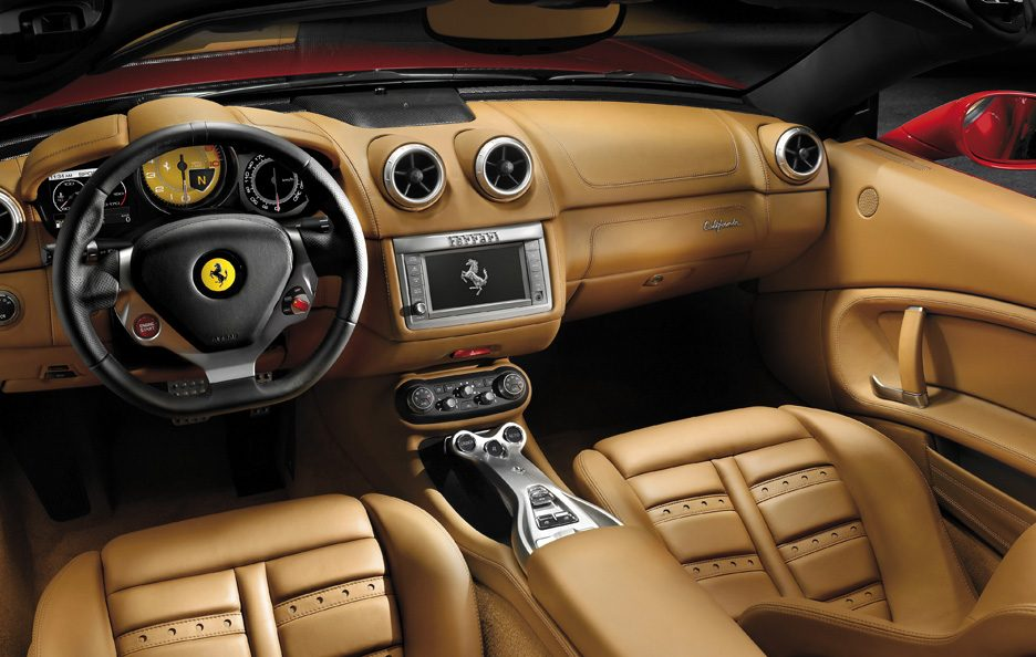 Ferrari California - Interni