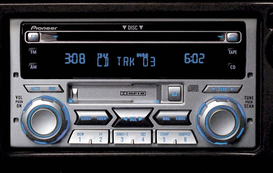 Ford Explorer U152 autoradio