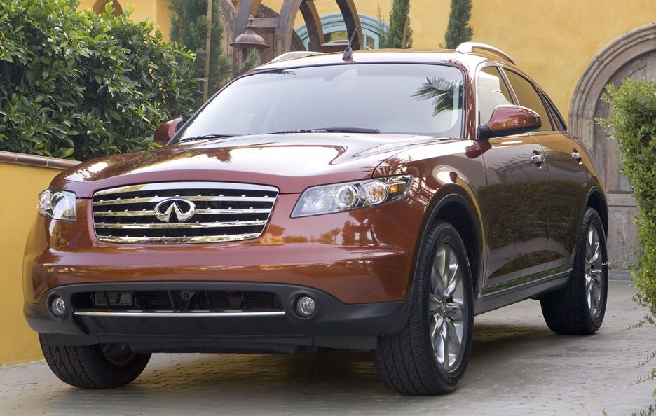 Infiniti FX S50 restyling