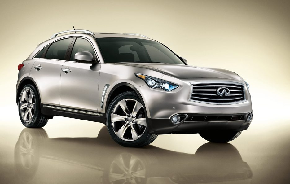 Infiniti FX S51 restyling
