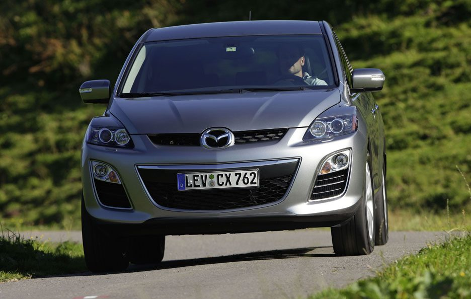 Mazda CX-7 restyling frontale