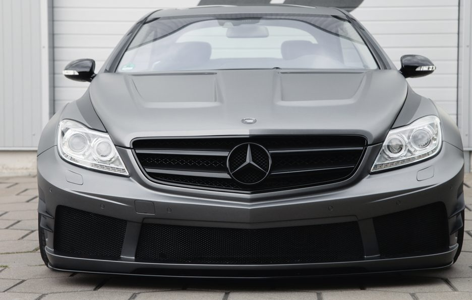 Mercedes CL Black Edition W216FL by Prior Design - Frontale