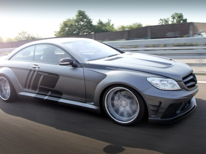 Mercedes CL Coupé by Prior Design