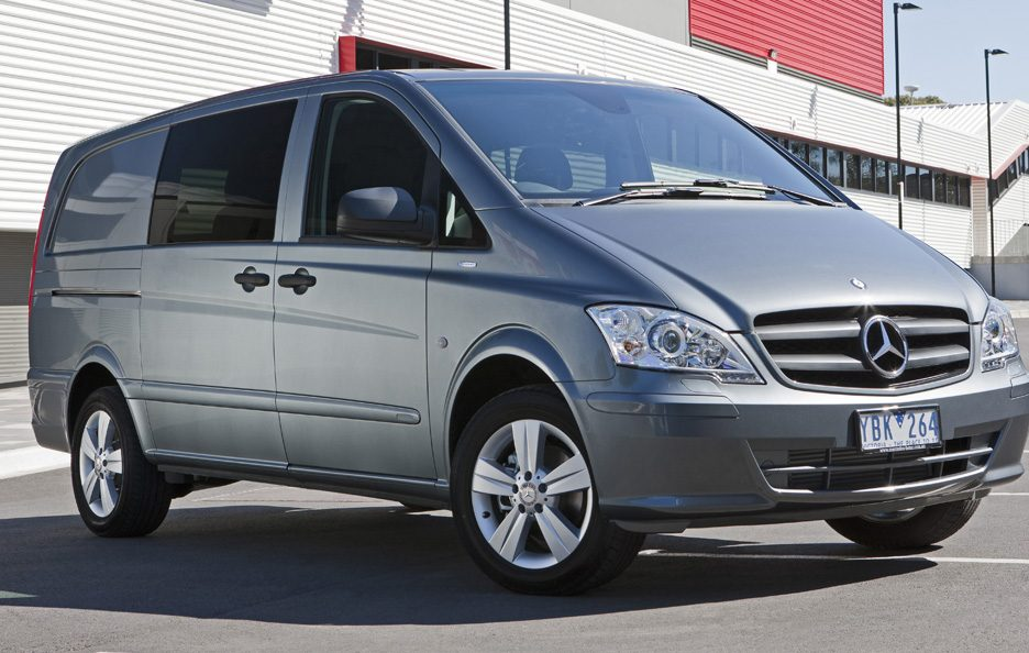 Mercedes Vito W639 restyling