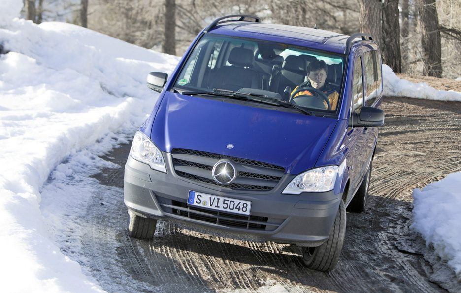 Mercedes Vito W639 restyling frontale