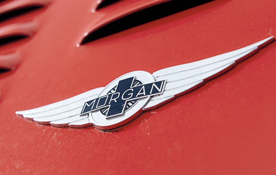 Morgan Plus 8 logo Morgan