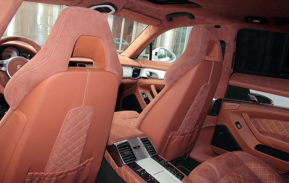 Porsche Panamera GTS by Anderson Germany - Abitacolo