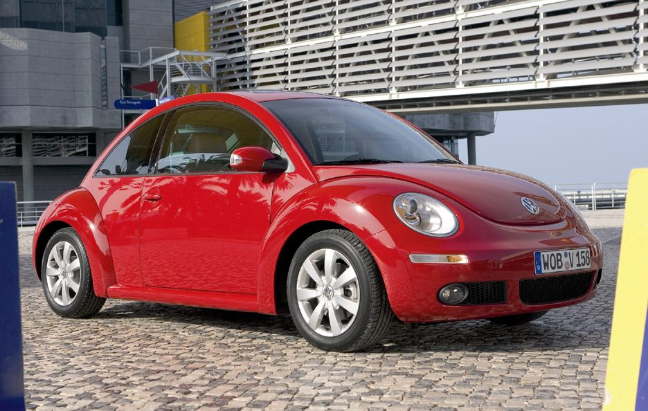 Volkswagen New Beetle restyling