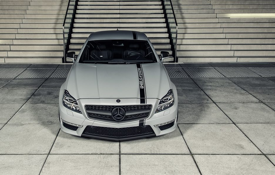 Wheelsandmore Mercedes CLS 63 AMG Seven 11 - Frontale alto