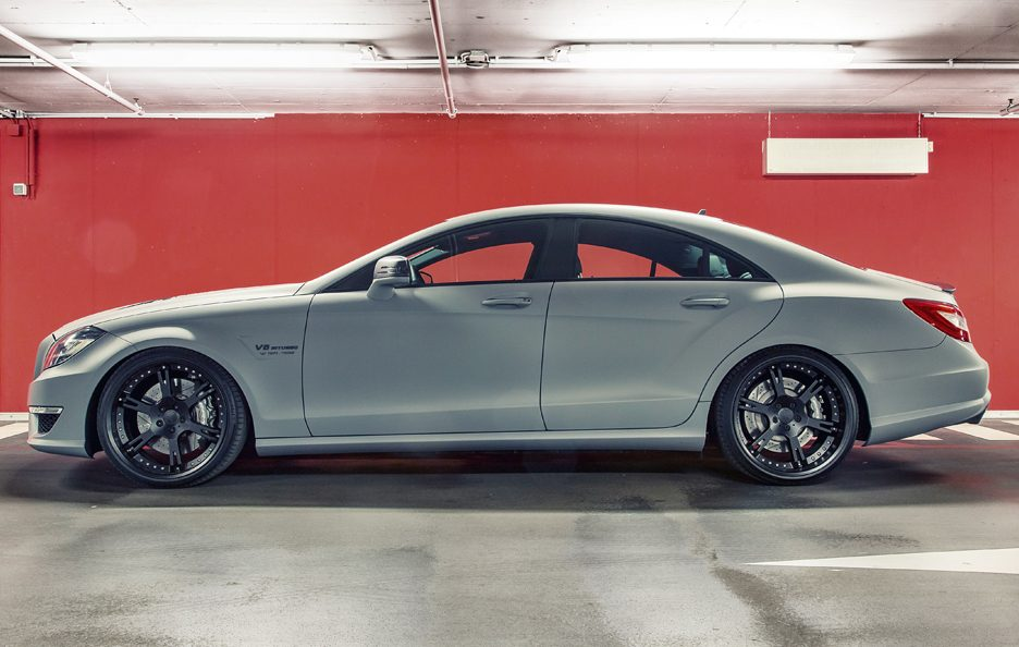 Wheelsandmore Mercedes CLS 63 AMG Seven 11 - Laterale