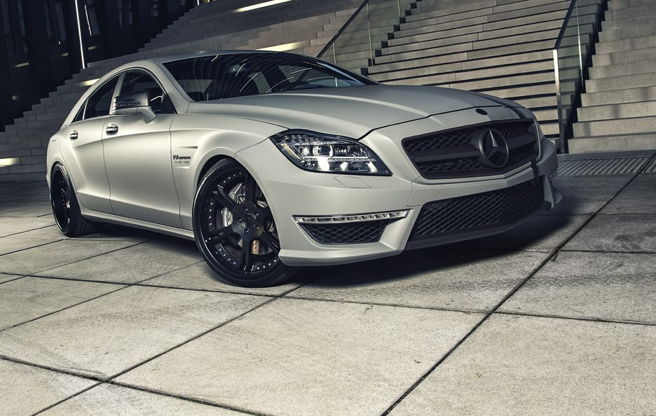 Wheelsandmore Mercedes CLS 63 AMG Seven 11 - Profilo frontale