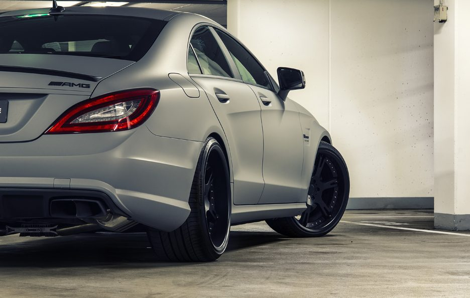 Wheelsandmore Mercedes CLS 63 AMG Seven 11 - Stacco retrotreno