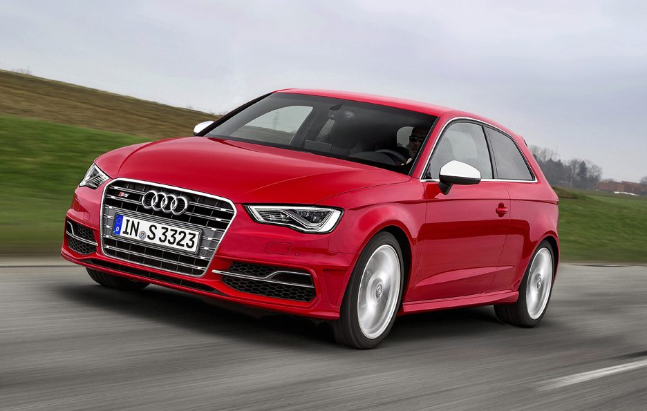 Audi S3 2013 - Anteirore in motion