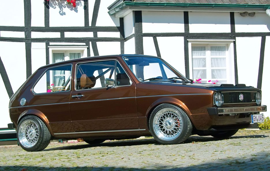Volkswagen Golf GL del 1983 - Home made Tuning - Profilo