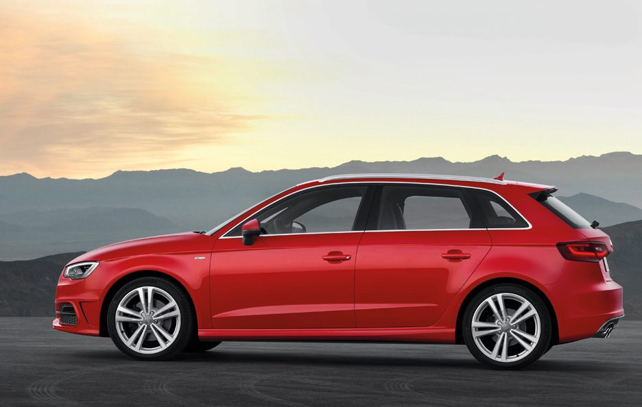 Audi A3 Sportback 2013 - S-Line - Laterale