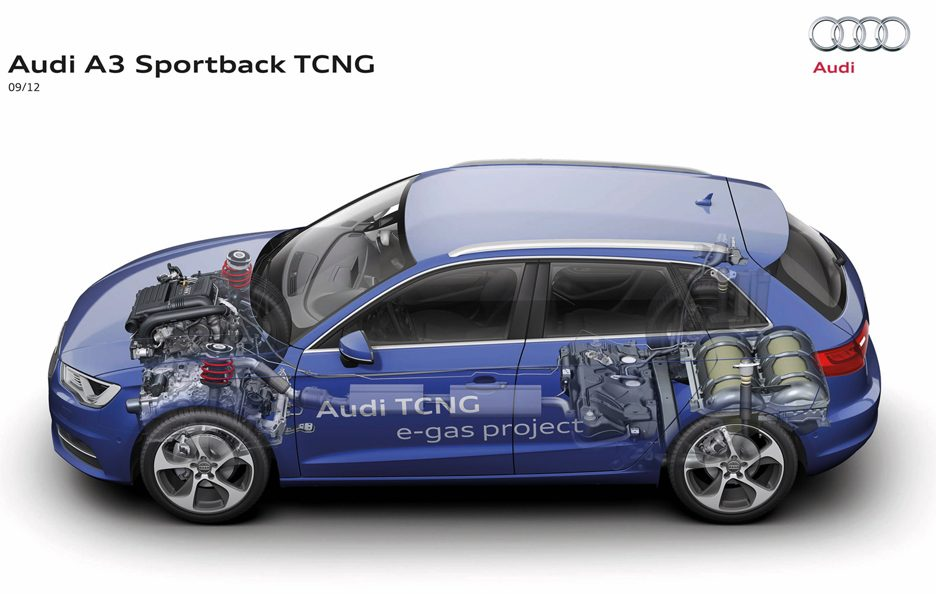 Audi A3 Sportback 2013 - Tcng - Chassis laterale