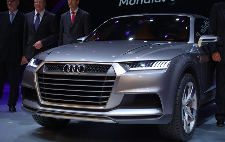 Audi Crosslane Coupe Concept - Frontale