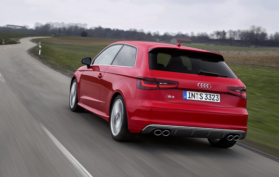 Audi S3 2013 - Posteriore in motion