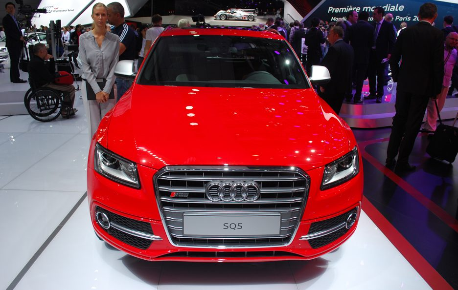 Audi SQ5 - Frontale