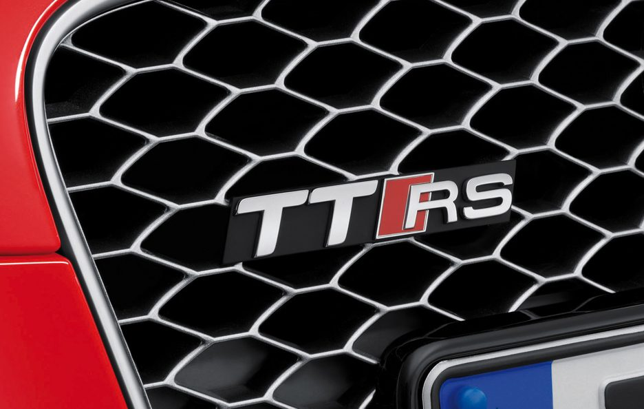 Audi TT RS Roadster logo TT RS