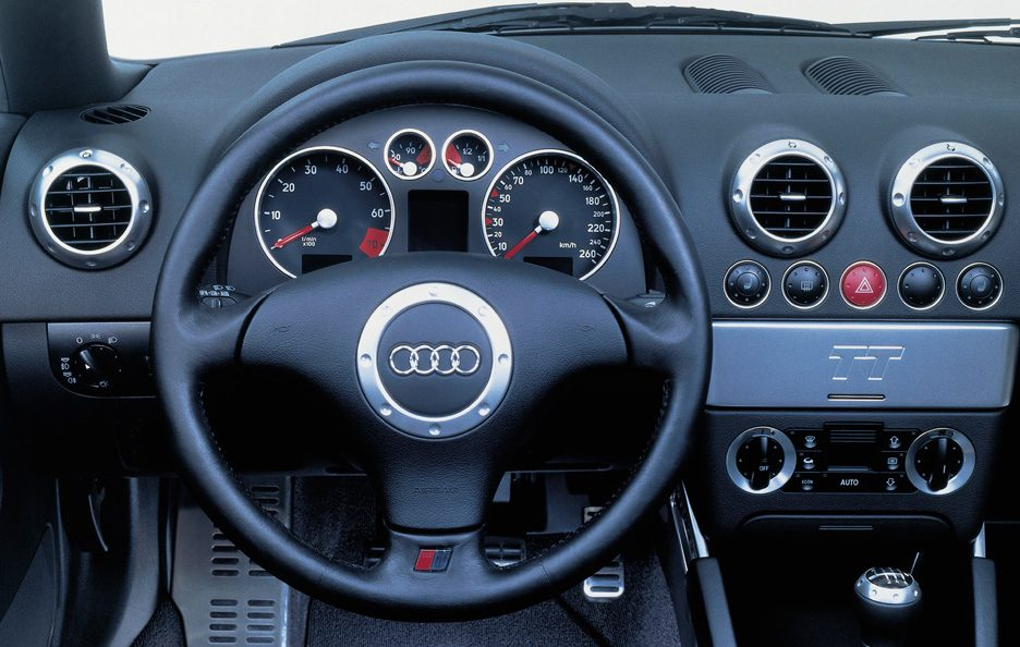 Audi TT Roadster 8N interni