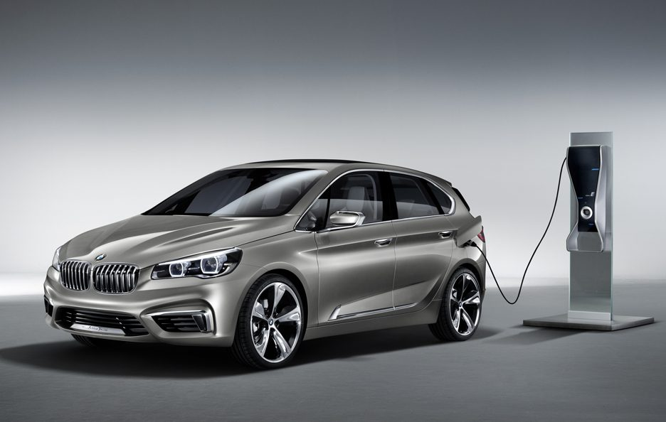 BMW Concept Active Tourer - In carica