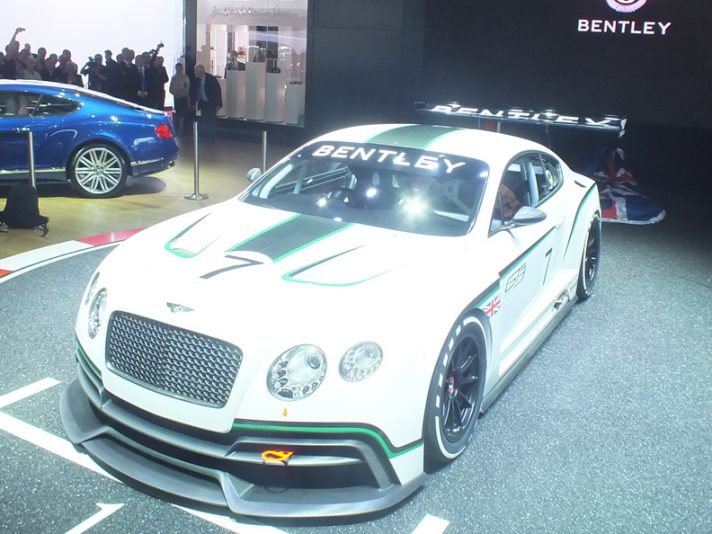 Bentley Continental GT3 - Parigi 2012