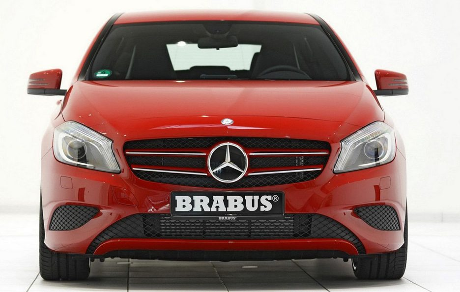 Brabus Mercedes Classe A - Frontale