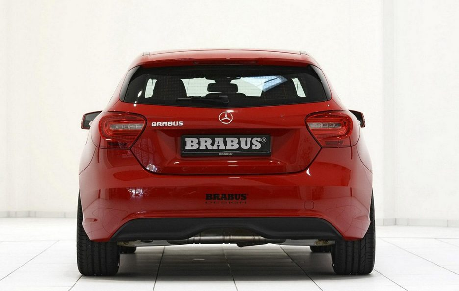 mercedes classe a by brabus tuning panoramauto. Black Bedroom Furniture Sets. Home Design Ideas