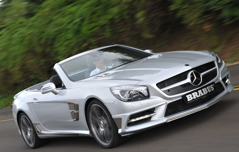 Brabus - Mercedes SL - Frontale in motion