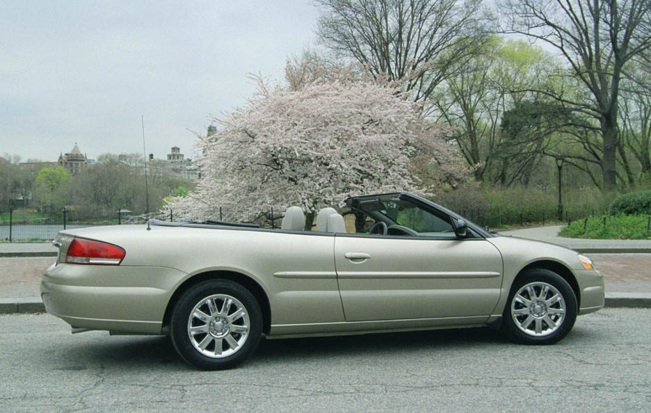 Chrysler Sebring JR Convertible restyling tre quarti posteriore