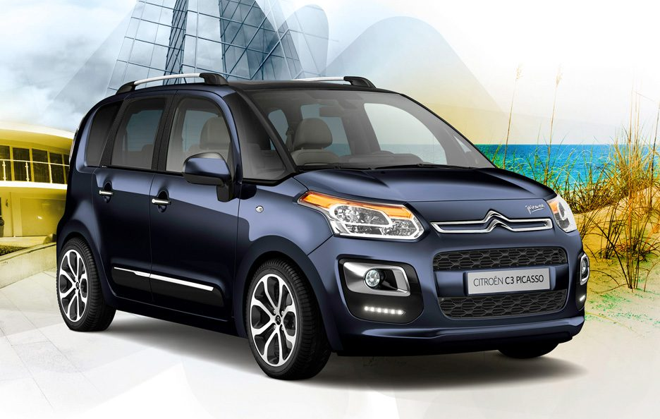 citroen c3 picasso foto panoramauto. Black Bedroom Furniture Sets. Home Design Ideas
