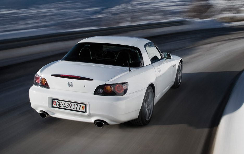Honda S2000 tre quarti posteriore hard-top