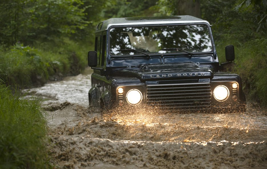 Land Rover MY 2013 - Frontale guado
