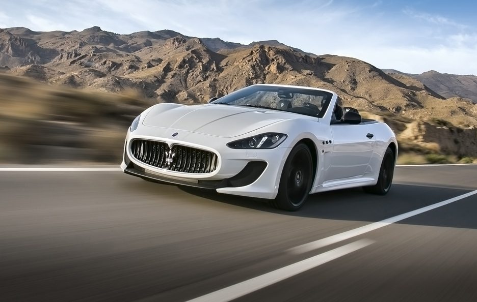 Maserati GranCabrio MC - Frontale in motion