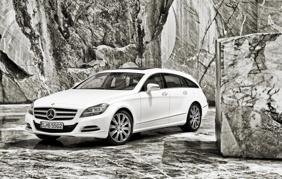 Mercedes CLS Shooting Brake - Linee