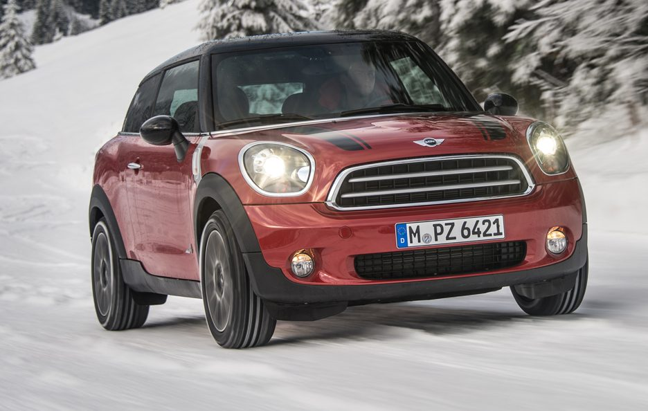Mini Paceman All4 - Anteriore in motion