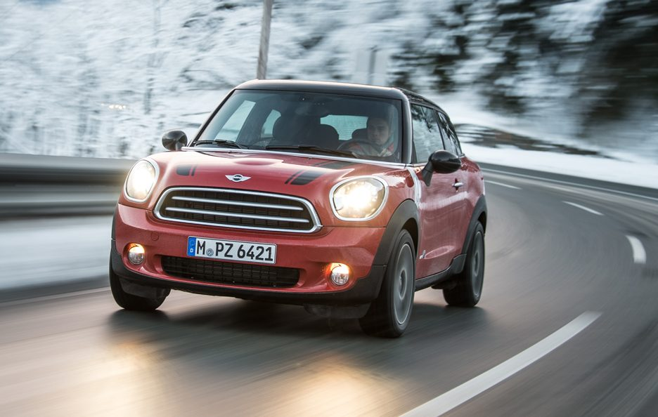 Mini Paceman All4 - Frontale