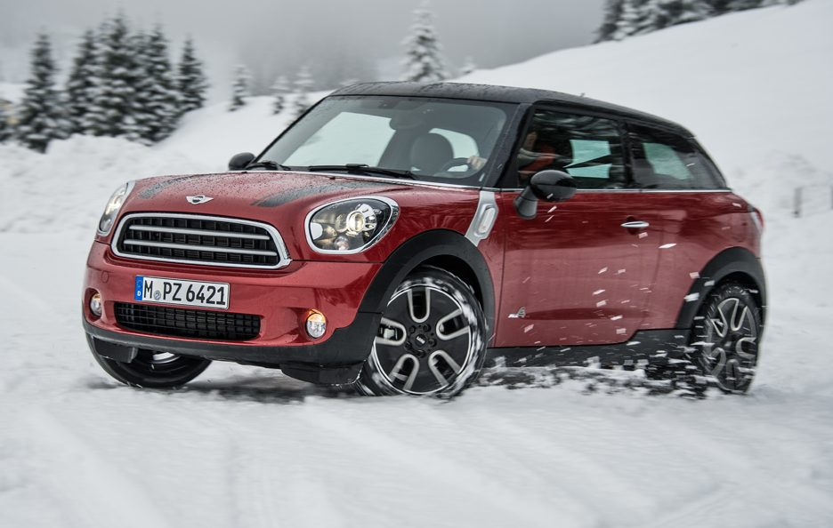 Mini Paceman All4 - Linee
