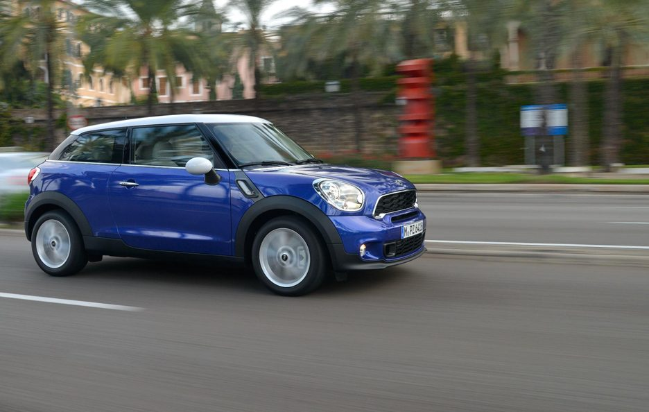 Mini Paceman - In motion