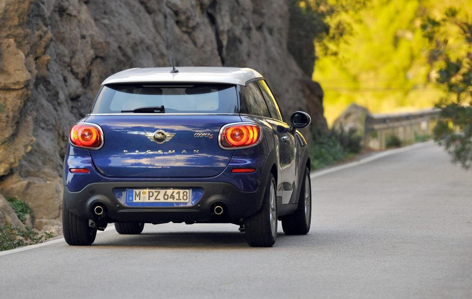 Mini Paceman - Posteriore in motion
