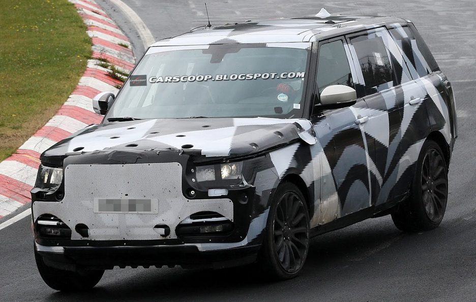 Range Rover a passo lungo - Frontale