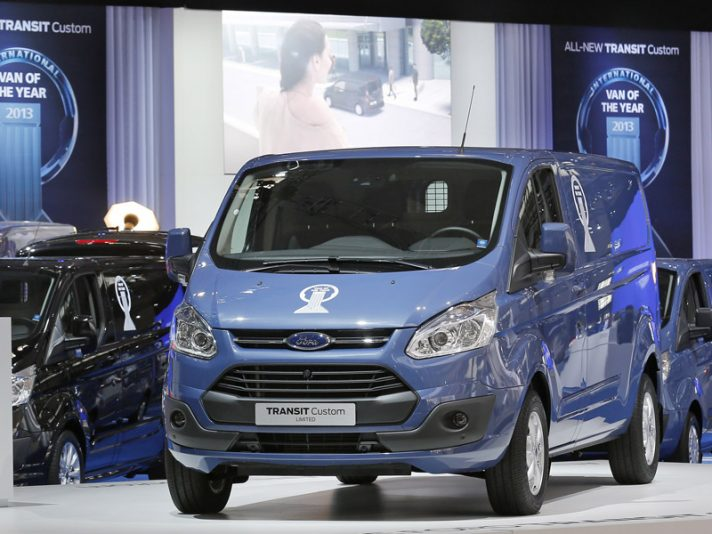 Nuovo Ford Transit Custom: eletto Van of the Year 2013