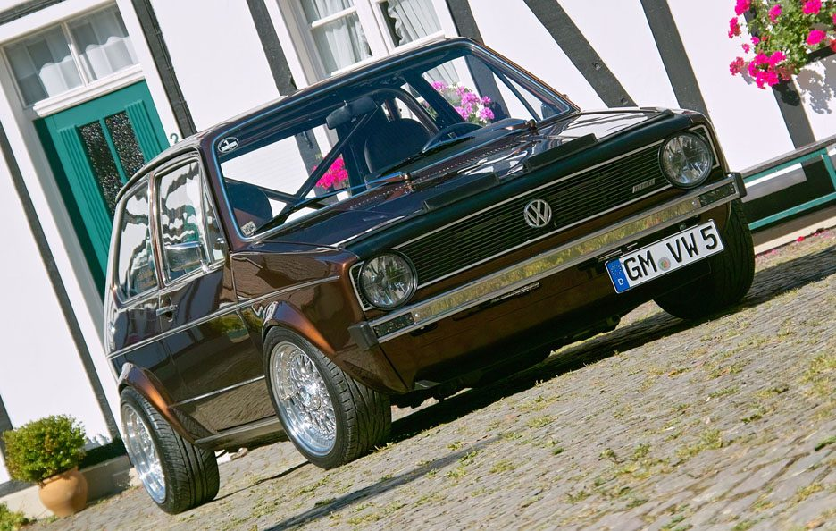 Volkswagen Golf GL del 1983 - Home made Tuning - Anteriore