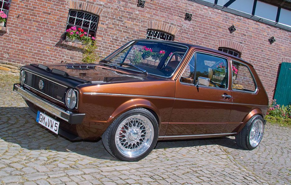 Volkswagen Golf GL del 1983 - Home made Tuning - Linee