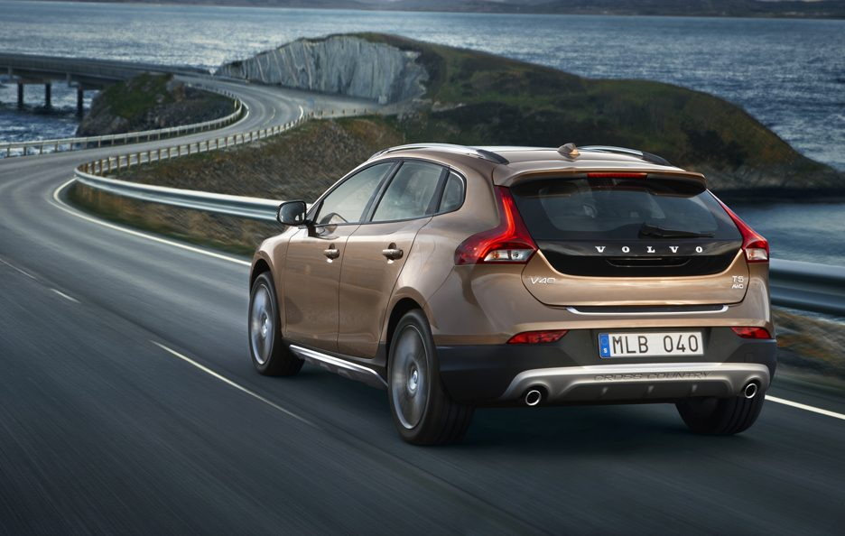 Volvo V40 Cross Country - La coda